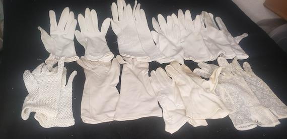 dress gloves, fancy gloves, retro gloves, short gl