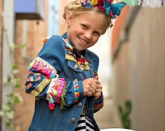 Big Day Out Jacket PDF Sewing Pattern ( slim fit denim jeans jacket for boys and girls intermediate )