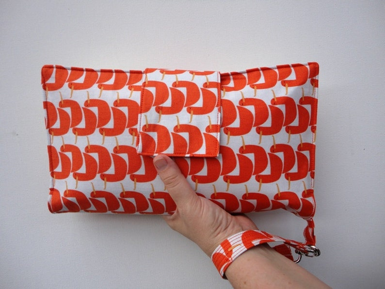 Diaper Nappy Pouch Clutch Wallet 3 sizes PDF Tutorial image 0