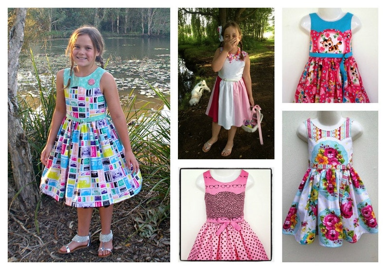 Ainslee Fox Disco Party Dress  size 1 to 12 years Girls Dress image 0
