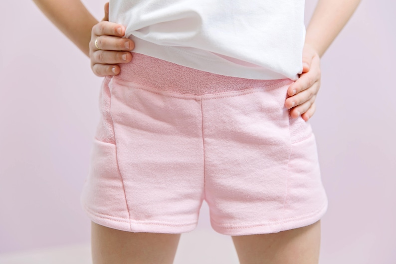 Scuttle Shorts PDF Sewing Pattern  low rise shorty shorts and image 0