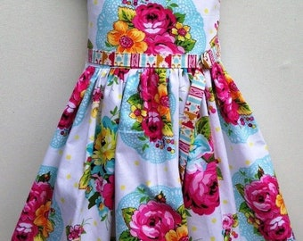 Ainslee Fox Disco Party Dress - Girls size 1-12 years Dress PDF Sewing Pattern