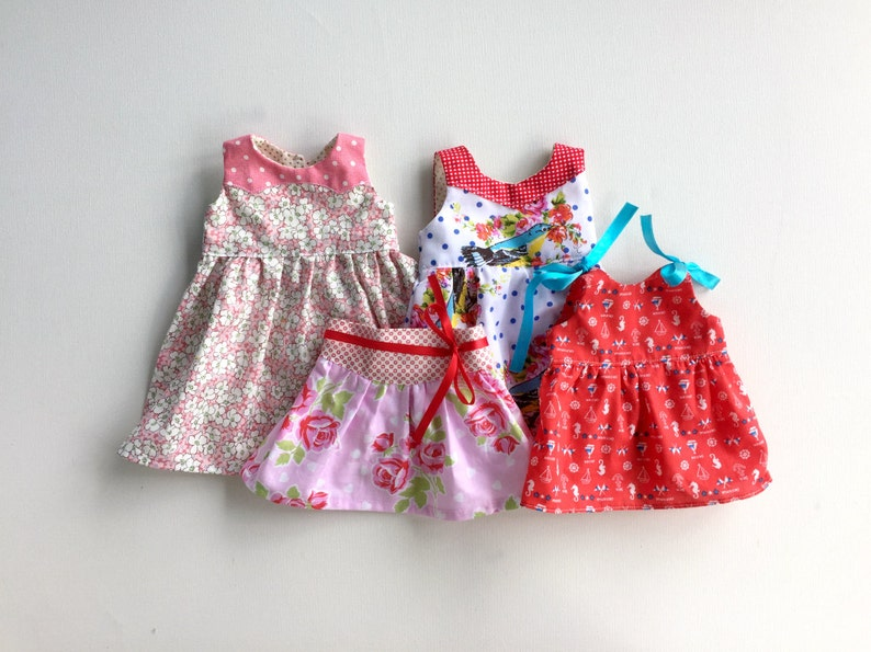 Dolly PDF Sewing Pattern Bundle  3 dresses 1 skirt 1 top  image 0