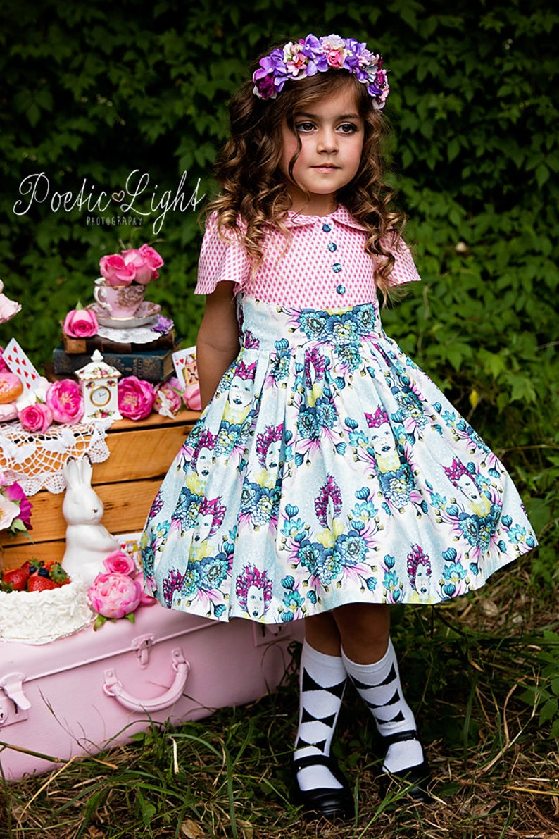 Alyss Party Dress by Ainslee Fox Boutique Sewing Patterns  image 0