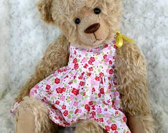 Dolly Honeygum Dress PDF Sewing Pattern - 5 dolly sizes