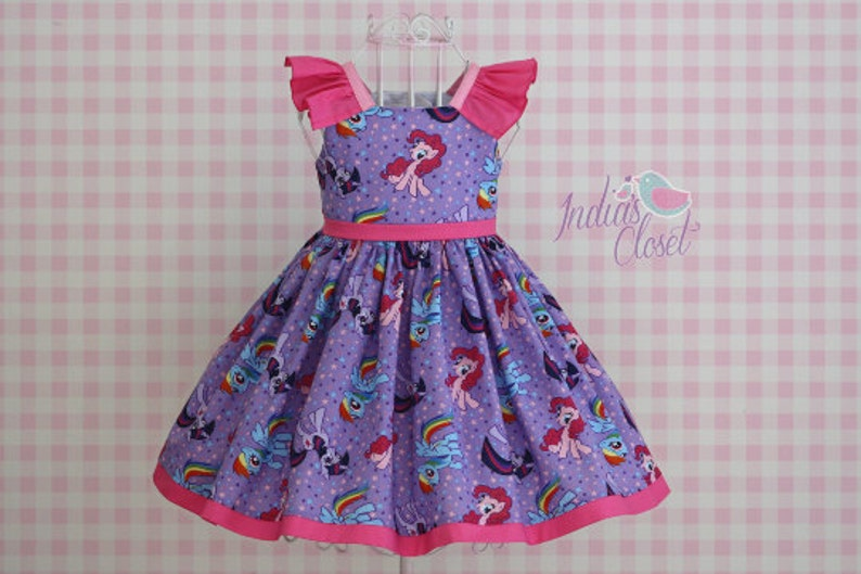 Posey Party Dress PDF Sewing Pattern by Ainslee Fox for image 0