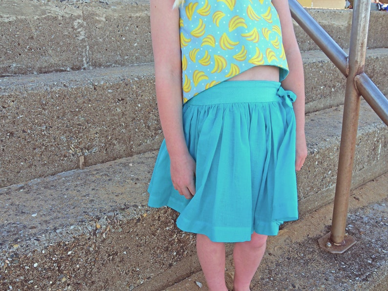 Saltwater Skirt  Ainslee Fox Boutique Patterns PDF Sewing image 0