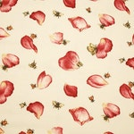 Sweet OOP Rose Petals, Butterflies, Bees and Ladybugs Home Dec Fabric - 58-inch Wide x 2 Yards Long
