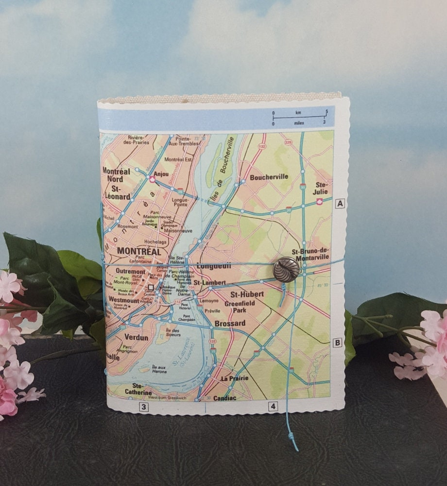 Road Map Of Canada With Cities.Montreal Canada City Map Travel Journal With Colorful Map From My