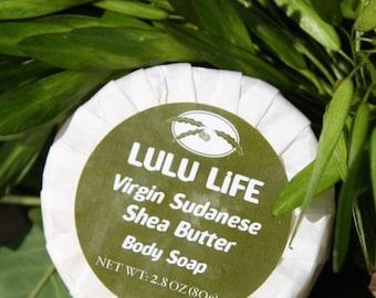 South Sudanese Fair Trade Shea Butter Soap 2.8 oz