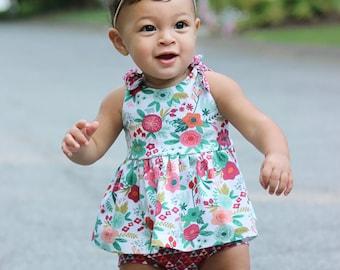 Cornflower Dress 12m-8 PDF Sewing Pattern