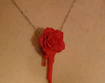 Bleeding Heart Rose (red)