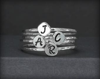 RINGS: Hand Stamped