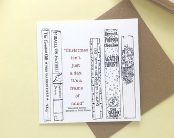 """Miracle on 34th street """"Christmas isn't just a day, it's a frame of mind"""" Christmas card"""