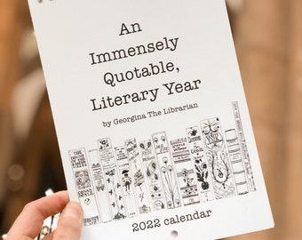 2022 Literary Quote Calendar
