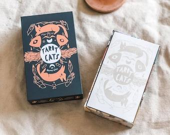 Tarot Cats a 78 card cat fan tarot deck