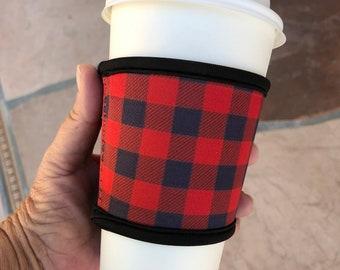 Neoprene Coffee Sleeve, Reusable Coffee Sleeve, Coffee Sleeve, Reusable Drink Sleeve, Reusable Coffee Cozy