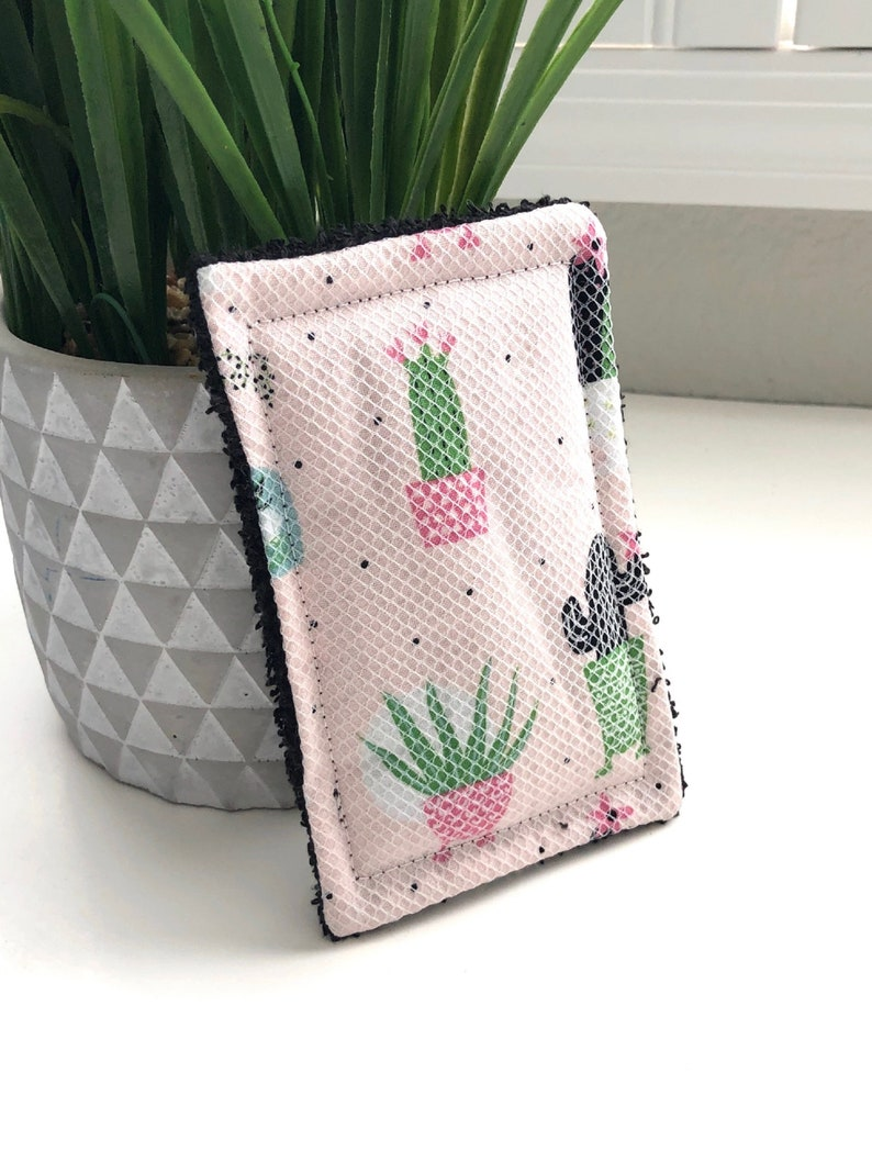 Cactus Reusable Sponge Unsponge  Eco Friendly Gift Kitchen image 0
