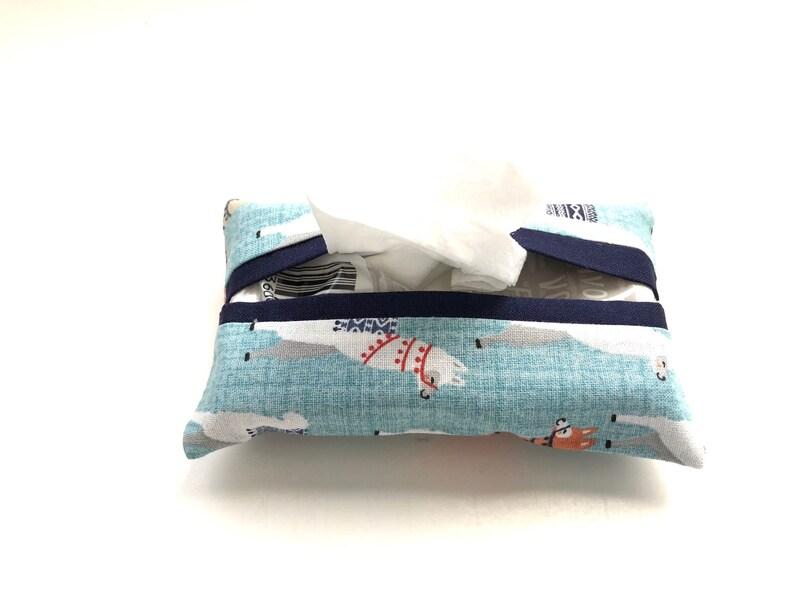 Pocket Tissue Cover Travel Tissue Cover Tissue Cover Pocket image 0