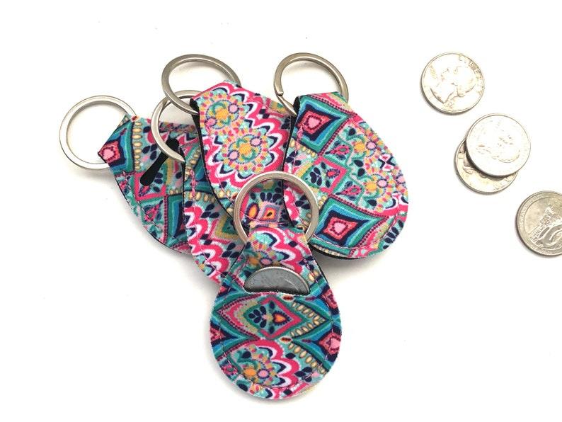 Aztec Quarter Holder-Quarter Keeper-Quarter Keychain image 0