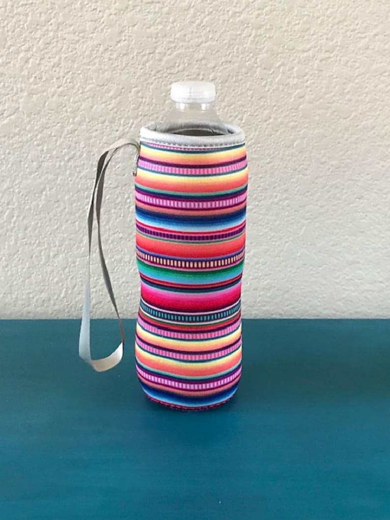 Serape Water Bottle Holder Blanks Neoprene Personalization image 0