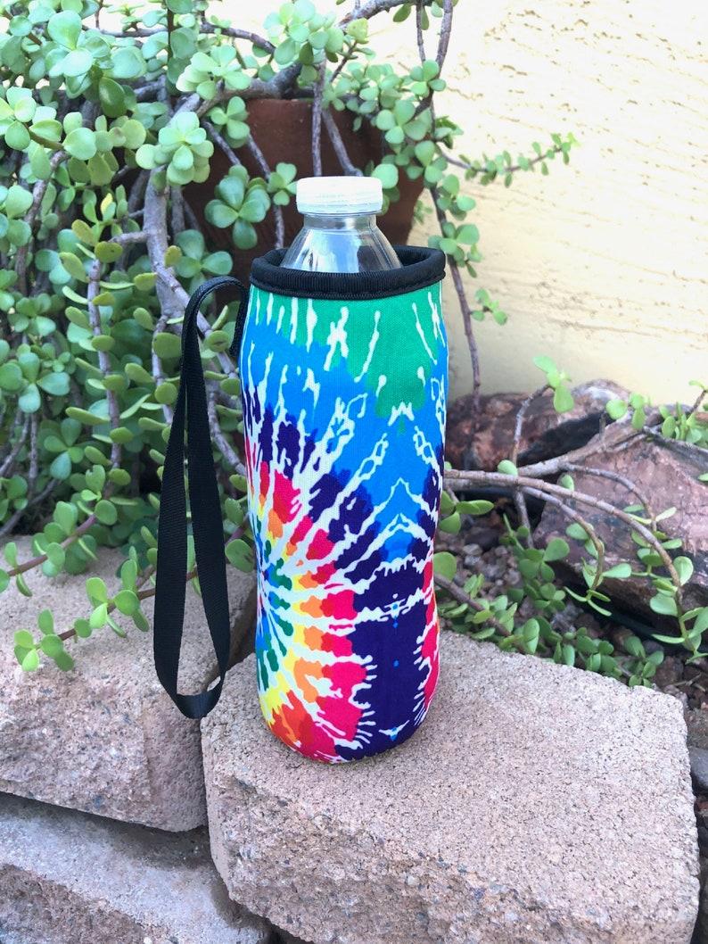 Tie Dye Water Bottle Holder Blanks Neoprene Personalization image 0