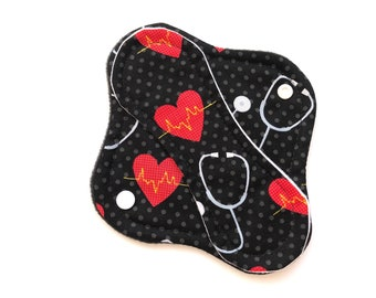 """Cloth Panty Liner 8"""" Reusable Cloth Panty Liner, Washable Cloth Panty Liner"""