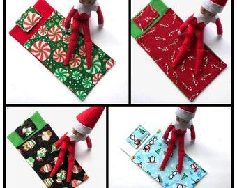 Elf Prop, Elf Sleeping Bag, Christmas Elf, Doll Sleeping Bag, Pretend Play Christmas Elf