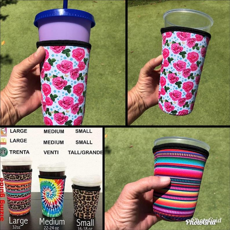 Iced Coffee Sleeve Loaded Tea Sleeve Drink Sleeve Tumbler image 1