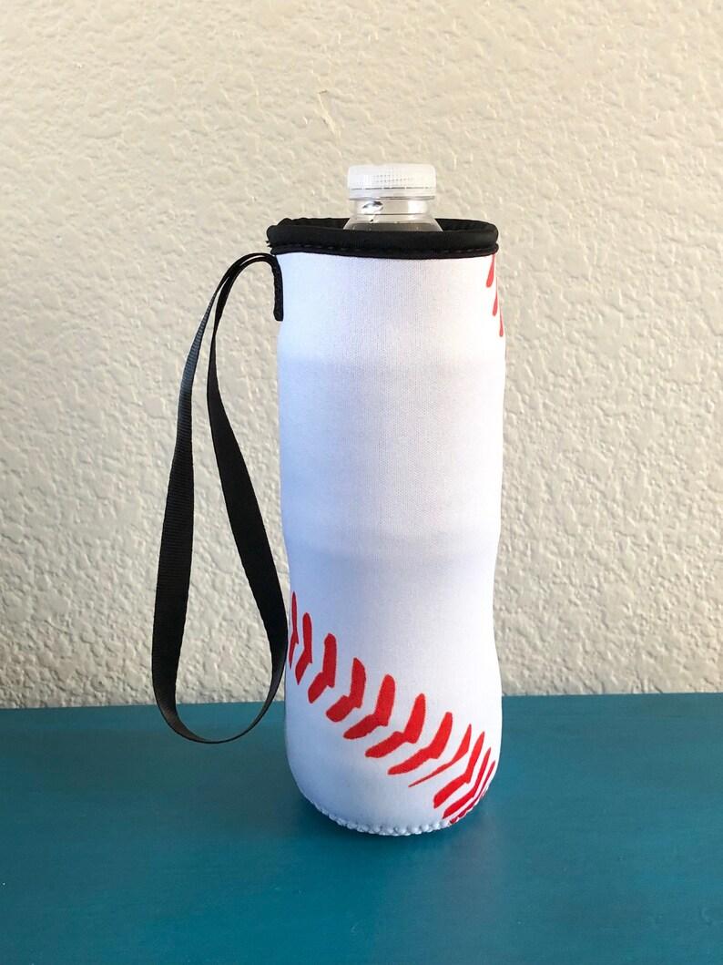 Baseball Water Bottle Holder Blanks Neoprene Personalization image 0