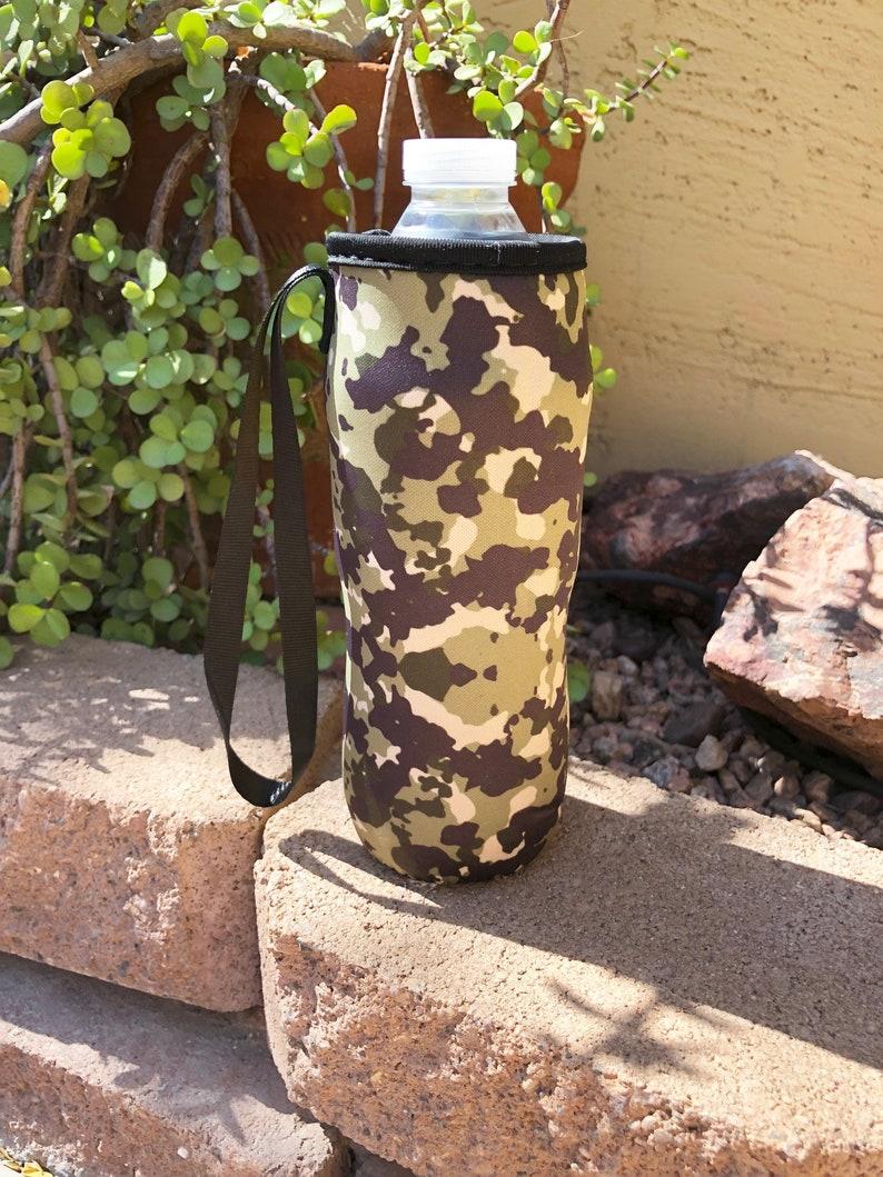 Camo Water Bottle Holder Blanks Neoprene Personalization image 0