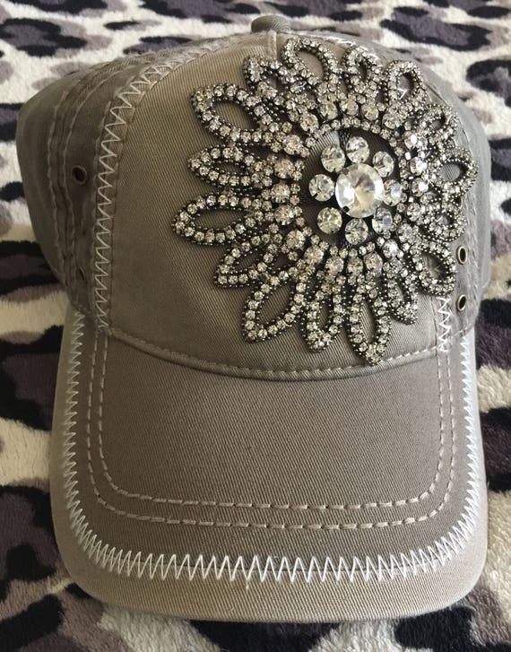 Baseball caps-women s caps-bling baseball hat-low profile  0ab9f188f