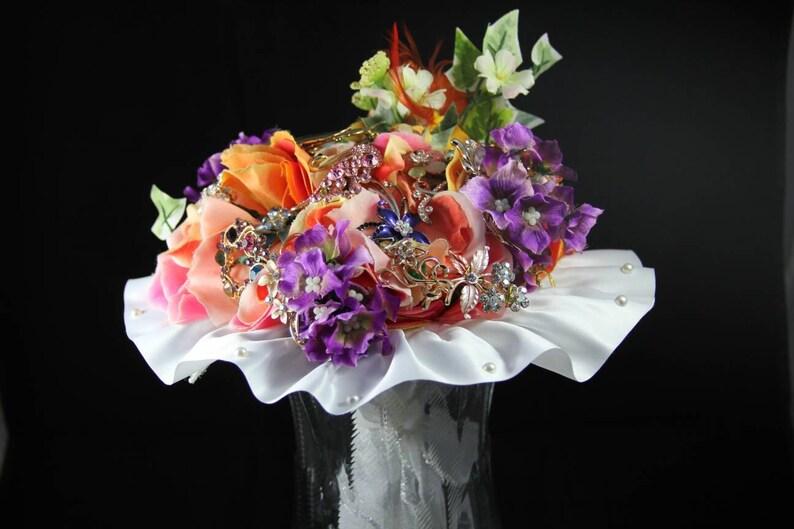 SALE SALE Brooch Bouquet Bridal bouquet wedding bouquet image 0