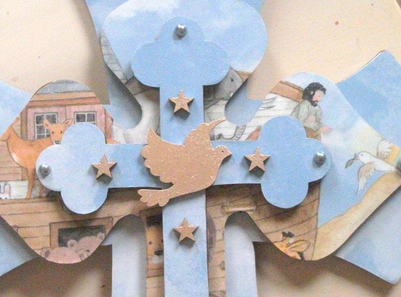 Home decor Christian Crosses Wood Wall Art Wooden Cross image 0