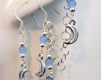 ear cuff,ear cuffs online, ear cuff earrings, ear cuff jewelry, ear wraps and cuffs, ear cuffs uk, moon, lunar, crescent moon, pale