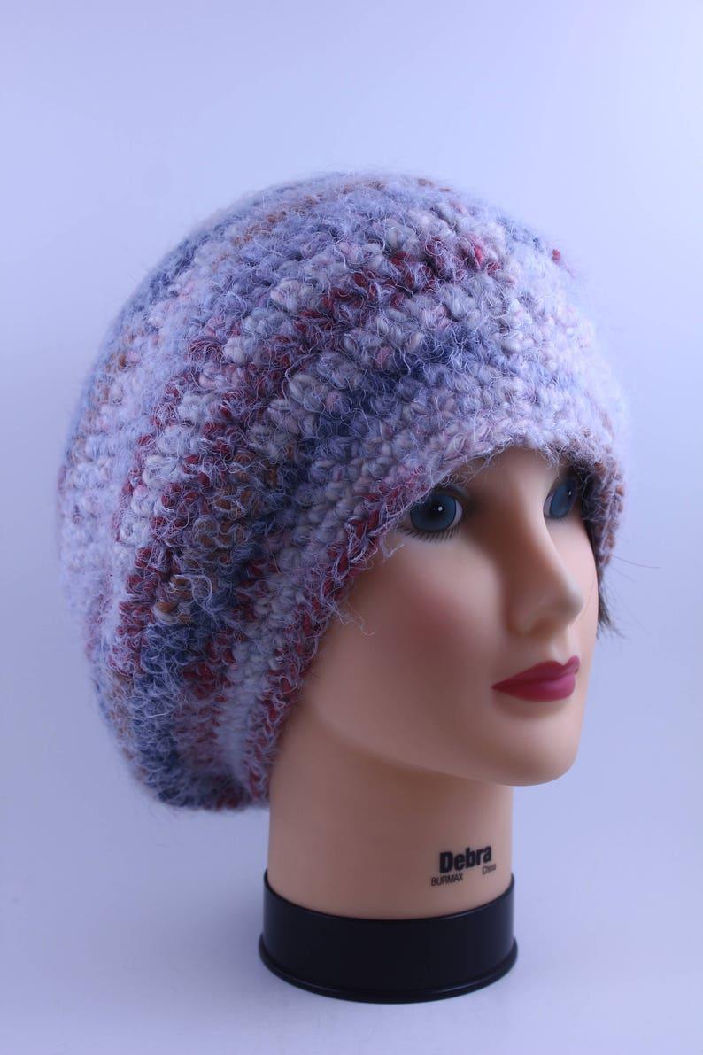 Slouchy Unisex Oversized Boho-chic Hand knitted Beanie