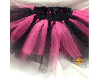 Black and Pink baby tutu
