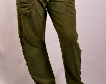 Slouch Pant in hemp/organic cotton/lycra.  Play in them, sleep in them!