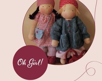 Oh Girl! E-Book für Puppenkleidung