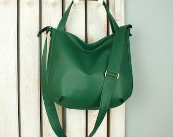 d0f9e643fe1 Green crossbody bag | Etsy