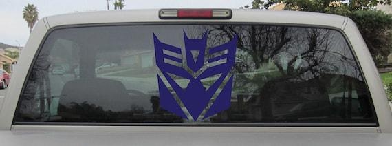 Autobot logo Vinyl Stickers Decals Laptop Macbook Bumper Moto Car Auto Tablet