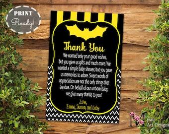 Batman Inspirado Bebé Ducha Invitación Muchacho Bebé Ducha
