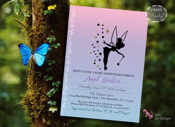 Tinkerbell inspired baby shower invitation printable baby etsy image 0 filmwisefo