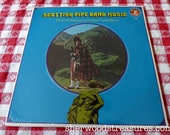 Scottish Pipe Band Music Lp Vinyl Record 1970 Olympic Records 6145 City of Glasgow Police Band