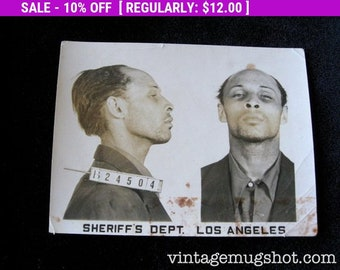 Los Angeles Sheriff's Department Police Criminal MUG SHOT | Etsy