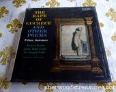 Sealed Rape of Lucrece And Other Poems SHAKESPEARE 1961 Lp Vinyl Record Box Edith Evans, Donald Wolfit, Richard Burton