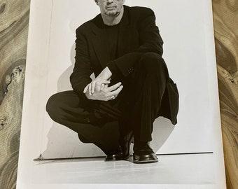 Eric Clapton  Vintage Black and White Glossy  Photograph  9 12 x 12 18 Original Professional Photo