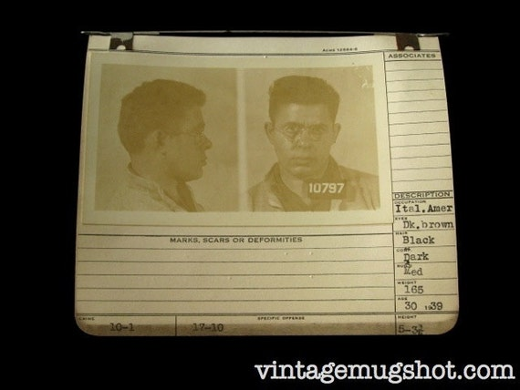 1939 FAHNDUNGSFOTO Allegheney County Pa italienischen Polizist | Etsy