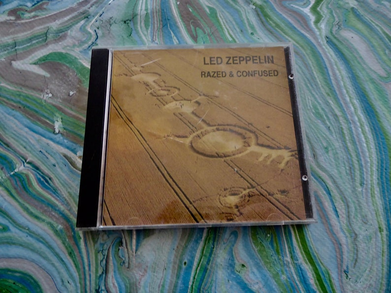 Rare Led Zeppelin Razed & Confused Unofficial Release CD Excellent Germany  SOUNDBOARD RECORDING