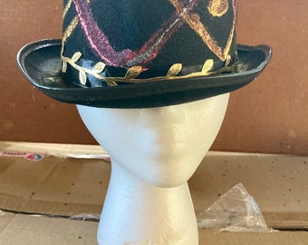 Hand Painted Top Hat